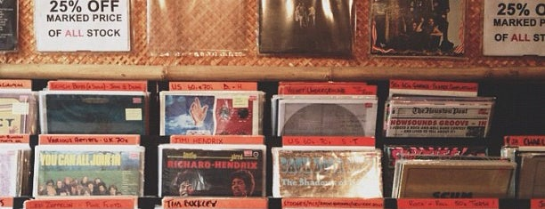 Intoxica Records is one of Bin Flipping: Record Shops #vinyl.