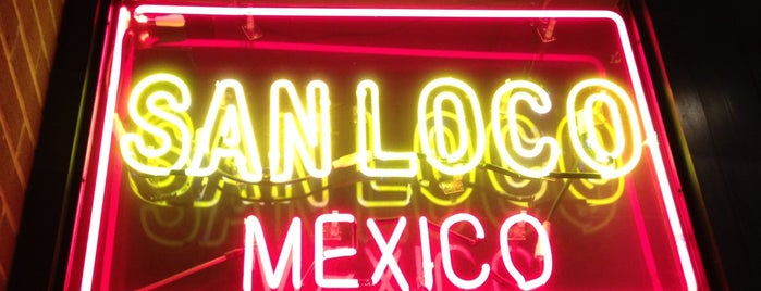 San Loco is one of NYC dranks.