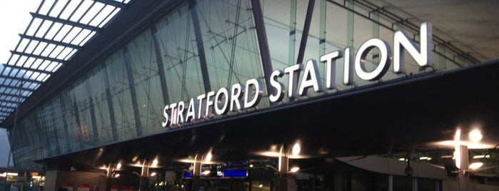 Stratford London Underground and DLR Station is one of Tube Challenge.