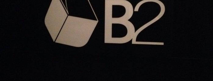 B2 is one of Pontos de carona.