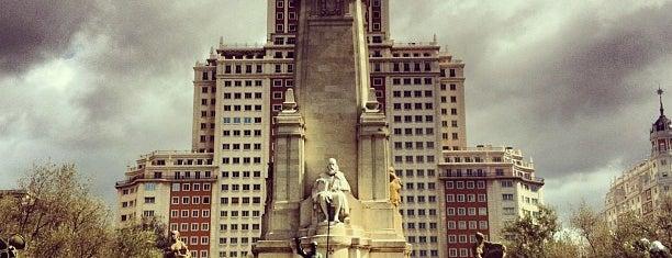 Plaza de España is one of @ Madrid (MD, España).