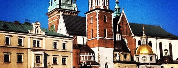 Wawel Castle is one of miejsca krakow.