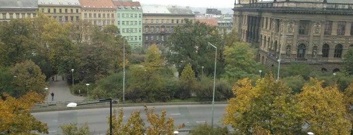 Čelakovského sady is one of Gardens, Parks and Forests in Prague.