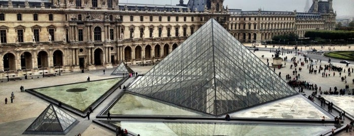 The Louvre is one of Paris.