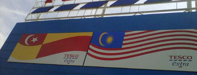 Tesco is one of Shopping Mall..
