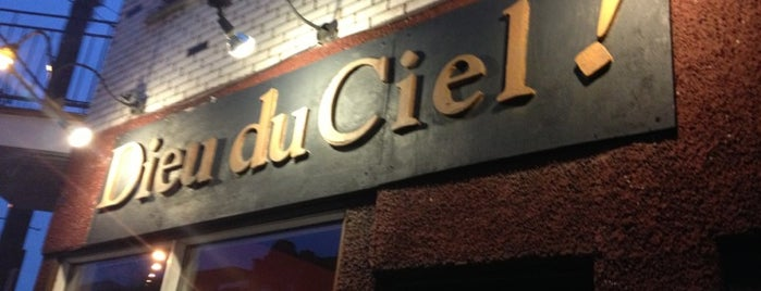 Dieu du Ciel! is one of Microbrasserie.