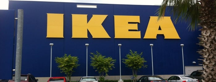 IKEA is one of Favorites.