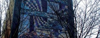 Dontas Pirstelis, Mural na 1000-lecie Gdanska, 1997 is one of Murale Gdańsk Zaspa.