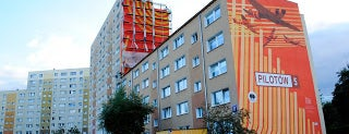 Gdańska Szkoła Muralu, 2011 is one of Murale Gdańsk Zaspa.