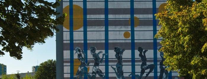 Edeltraut Rath, Pan Liping, Monumental Art 2010 is one of Murale Gdańsk Zaspa.
