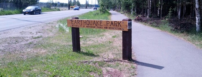 Earthquake Park is one of Anchorage, AK.