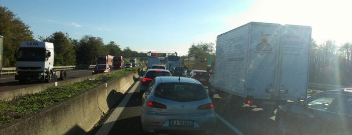 A4 - Rovato is one of A4 Autostrada Torino - Trieste.