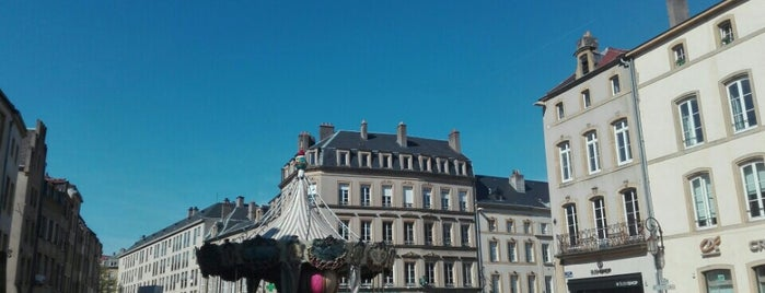 Place Saint-Louis is one of Metz.