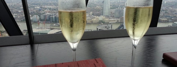 Searcys at 40|30, The Gherkin is one of Can I have a drink?.