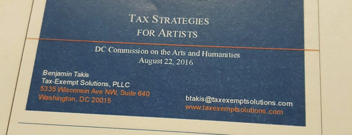 DC Commission on the Arts and Humanities is one of Members.