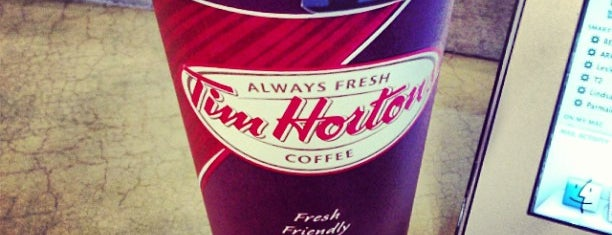 Tim Hortons is one of Best places in Edmonton, Canada.