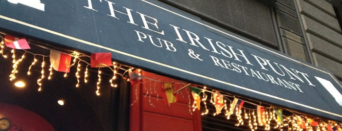 The Irish Punt Pub & Restaurant is one of FiDi Bars/Restaurants.