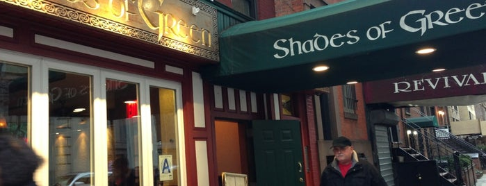 Shades of Green is one of Must-visit Pubs in New York.