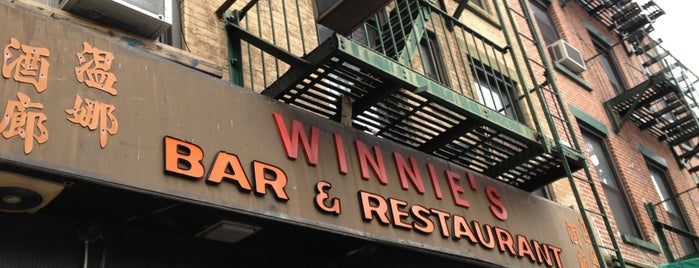 Winnie's is one of 50 Best Dive Bars.