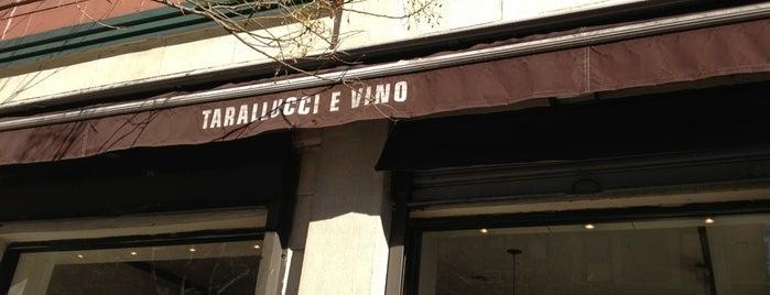 Tarallucci e Vino is one of N....YC.