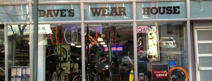 Dave's Wear House is one of Shops to visit | New York.
