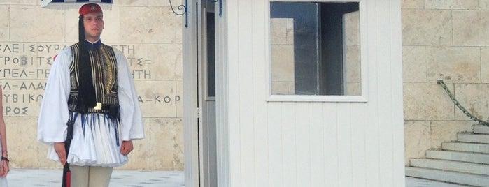 Βουλή των Ελλήνων is one of Favorite Spots in Athens.