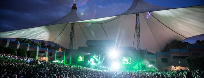 Shoreline Amphitheatre is one of South Bay.