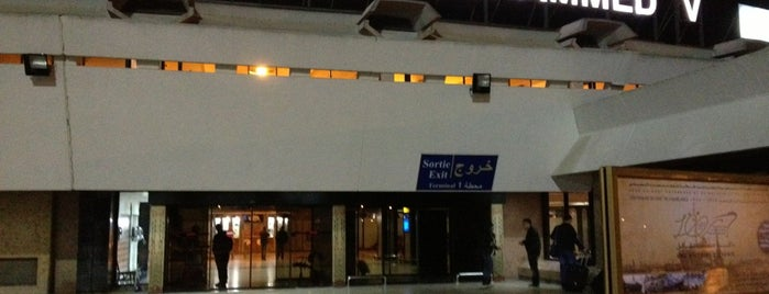 Mohammed V International Airport (CMN) is one of Airports of the World.