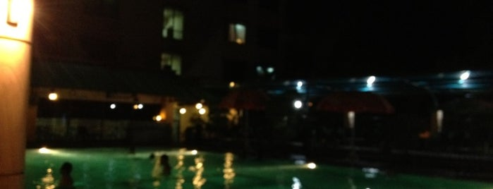 Swimming Pool Agas International Hotel is one of Hangout.