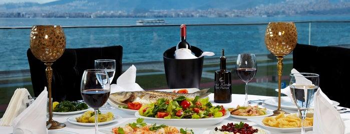 Birinci Kordon Balık Restoran is one of İzmir Deniz Mahsulleri.