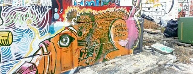 Graffiti Park Bangunan Lama is one of 주변장소5.