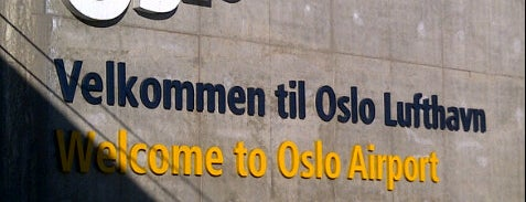 Oslo Airport (OSL) is one of Airports.