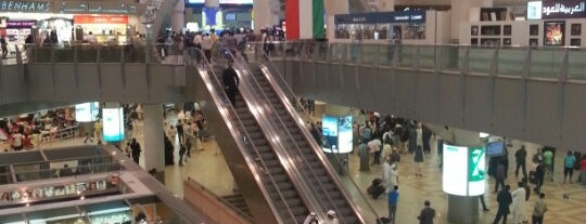 Kuwait International Airport (KWI) is one of Favorite List.