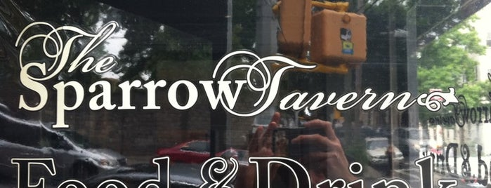 The Sparrow Tavern is one of Astoria-Astoria!.