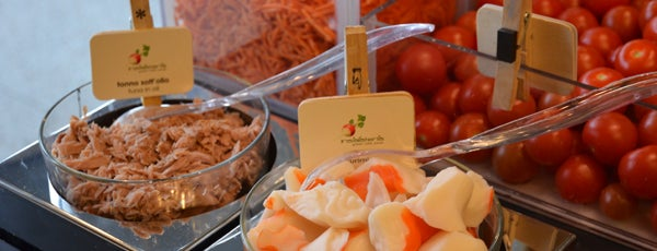 INSALATERIA @ Starhotels Rosa is one of Milano - Diner.