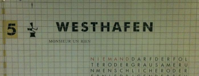 S+U Westhafen is one of Besuchte Berliner Bahnhöfe.