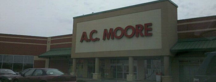A.C. Moore is one of Frequent Places.