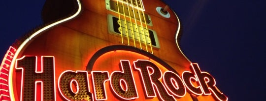 Hard Rock Cafe Las Vegas at Hard Rock Hotel is one of HARD ROCK CAFE'S.