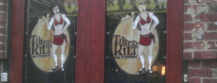 Tilted Kilt Pub & Eatery is one of North Ga chill spots.