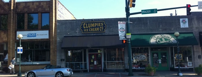 Clumpies Ice Cream Co is one of Chattanooga with a four year old.