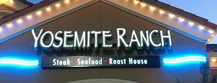 Yosemite Ranch Steak, Seafood & Roast House is one of Food in Fresno-Clovis, California.