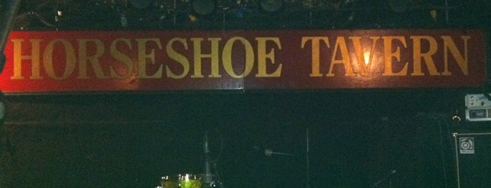 Horseshoe Tavern is one of Top picks for Music Venues.