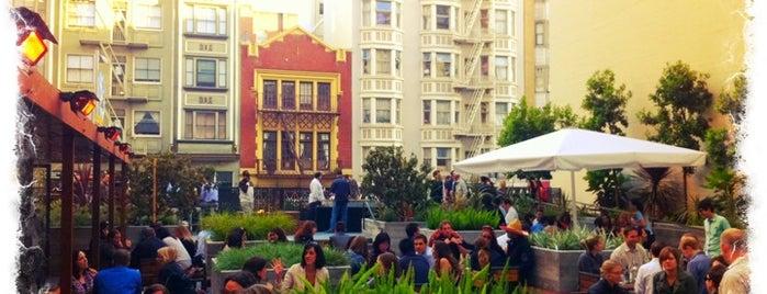 Jones is one of The Best Outdoor Bars in San Francisco.