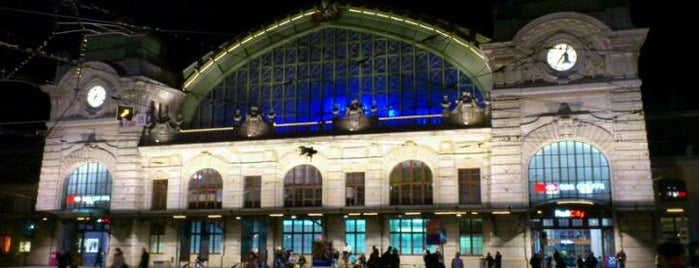 Basel SBB Railway Station is one of Bahnhöfe Top 200 Schweiz.