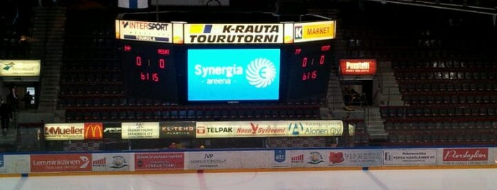 Synergia-areena is one of JYM Hockey Arenas TOP100.