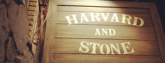 Harvard & Stone is one of Venues.
