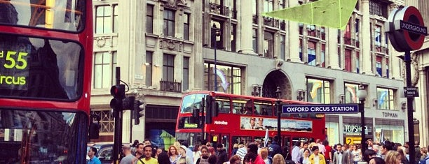 Oxford Circus is one of Must-visit Great Outdoors in London.