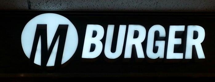 M Burger is one of Lettuce Entertain You Restaurants.