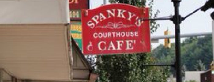 Spanky's Courthouse Cafe is one of Our Partners.