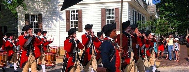 Colonial Williamsburg is one of All-Time Favourite Places.